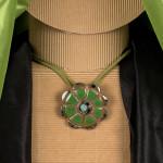 Medaglione Margherita, verde