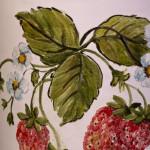 Tris con fragole - particolare -