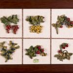 Quadro delle marmellate - pasta sale - cm. 29x35